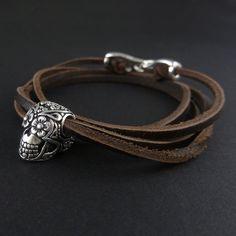 Tag der Toten Armband Antik Silber Tag der Toten von LostApostle
