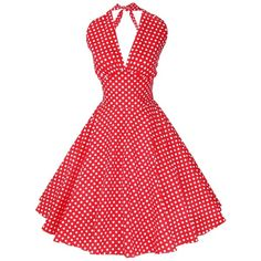 ILover Women's 1950s Vintage Marilyn Monroe Rockabilly large swing... ($30) ❤ liked on Polyvore featuring dresses, vintage dresses, rockabilly dress, tent dress, red rockabilly dress and trapeze dress