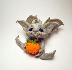 These guys are so gaud-damn cute! Original Goblin Troll Fairy Baby Gargoyle by HedegaardsWhimsies