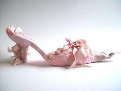 Kell Belle Studio: Paper Couture I: Marie Antoinette Paper Shoes