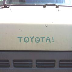 Toyota smiles!