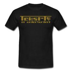 Men's Standard T-Shirt ~ Tekst-tv er undervurdert ~ 4