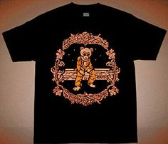 Tan Brown Orange Kanye Bear album cover Angels shirt Yeezy Boost 350 V2 Clay  #fashion #clothing #shoes #accessories #mensclothing #shirts (ebay link) New Kanye, Tan Shirt, Orange Shirt, 350 V2, Yeezy Boost, Kanye West, Album Covers, Colorful Shirts, Angels