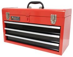 HOMAK RD01032101 3-Drawer Tool Box/Chest Red Homak Manufacturing http://www.amazon.com/dp/B000K6HBPG/ref=cm_sw_r_pi_dp_ichzwb0K98B15