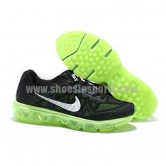 super popular 47825 14d8c Mens Air Max Tailwind 7 Black White Green