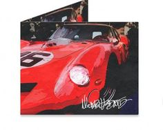 Dynomighty Artist Collective: 1962 FERRARI 250 BREADVAN by Michael Ledwitz 1962 FERRARI 250 GT SWB BREADVAN IS READY TO SERVE YOU AT THE 24 HOURS OF Le Mans