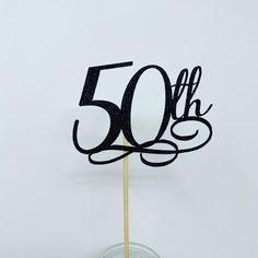 50th Birthday Centerpiece Sticks Glitter 50th Birthday | Etsy 40th Birthday Quotes, Birthday Gag Gifts, Happy Birthday Images, Happy Birthday Greetings, 50th Birthday Party, Wife Birthday, Birthday Wishes, Birthday Cakes, 50th Birthday Centerpieces