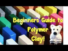 If you ever want to start working with Polymer Clay-This video is a MUST WATCH! Created by Tatiana Ambrose - Crafts Crafts Crafts Polymer Clay Miniatures, Fimo Clay, Polymer Clay Projects, Polymer Clay Charms, Polymer Clay Creations, Polymer Clay Art, Polymer Clay Jewelry, Clay Crafts, Video Fimo