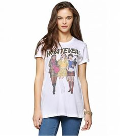 @Who What Wear - Urban Outfitters Clueless Whatever Tee ($29)  We could all learn a lesson, or eleven, from Clueless.