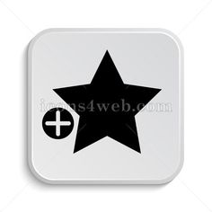 Add to favorites icon design. Icon designed in high resolution on white background. Stock illustration image for web design projects, social media page,