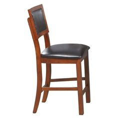 Winners Only Franklin Counter Height Cushion Back Bar Stool - Set of 2 | from hayneedle.com
