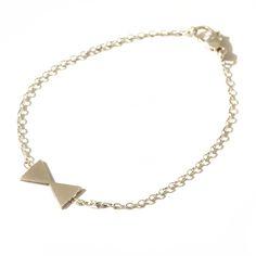 Bracelet Trinité argenté