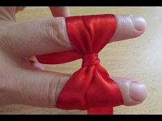 İki Parmakla Fiyonk Yapımı - YouTube
