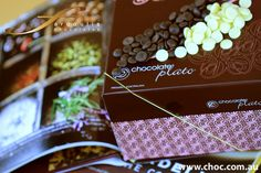 A luxurious gift made with couverture chocolate.     www.choc.com.au