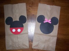Image detail for -... Bear Crafts: Our Minnie Mouse Birthday - Minnie Party Favor Bags
