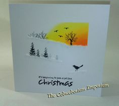 Card-io Stamps – The Cobweborium Emporium Cardio Cards, Card Io, Winter Cards, Ink Pads, Greeting Cards Handmade, Christmas Cards, Card Making, Paper Crafts, Creative