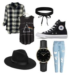 """""""back in black"""" by purple-octopus13 on Polyvore featuring art"""