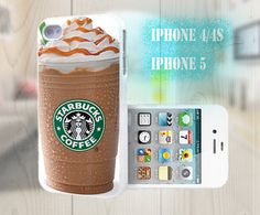 unique iphone case, i phone 4 4s 5 case,cool cute iphone4 iphone4s 5 case,stylish plastic rubber cases cover, funny starbuck coffee   p1015 on Etsy, $13.99