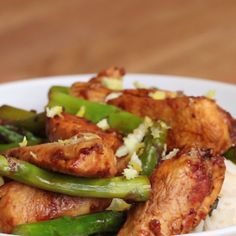 Lemon Chicken and Asparagus Stir Fry