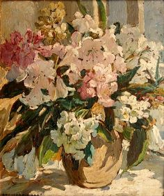 Sharp, Dorothea (1874-1955) - Flower Study (Private Collection)