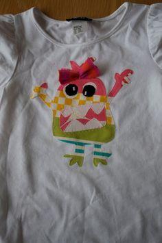 Monster Applique Shirt