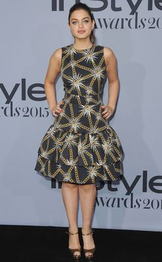 Odeya Rush from Stars at the 2015 InStyle Awards | E! Online