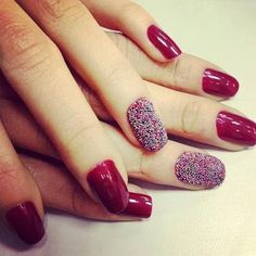 With Caviar! #nailart #nails #sexy #caviar #red #hot #color #nails