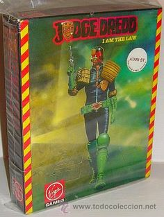 Judge Dredd - I'm the Law (Virgin Games / Random Access) [ATARI ST] 1990 [caja colección] Juez Dredd