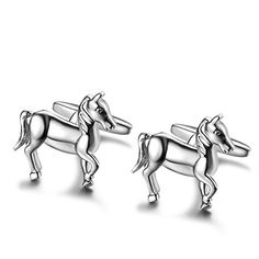 Caperci Polished Stainless Steel Animal Horse Cuff Links for Men (1 Pair Set) Caperci http://www.amazon.com/dp/B00UO8GM14/ref=cm_sw_r_pi_dp_vsQbvb11FRJ65