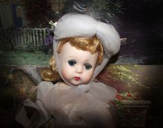 """GORGEOUS VINTAGE  MADAME ALEXANDER """"LISSY"""" IN ORIGINAL OUTFIT"""" 11.5"""" CIRCA 1956 #Dolls"""