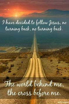 ❥ I have decided to follow Jesus <3