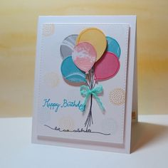SUO Balloon Birthday by nancy littrell - Cards and Paper Crafts at Splitcoaststampers