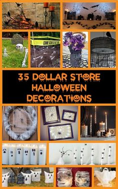 35 Dollar Store Halloween Decoration Ideas More