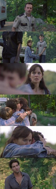 TWD. I always tear up when i see this scene. This is probably the only good scene Lori's ever been in.