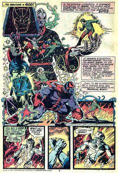 Thanos - Captain Marvel #33 - Jim Starlin