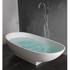 Classic Marble Bathtub With Claw Tub Mounted On Dark Porcelain Tiled Bathroom Using A Combination Of Black And White Wall Fitted With High Aluminum Faucet of Charming Marble Bathtub Exposed Faux Marble Bathtub Cultured Marble Bathtubs Marble Tub Marble Bathtubs Sale Marble Jacuzzi Tub . 600x600 pixels