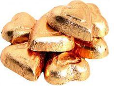 Premium Copper Chocolate Hearts