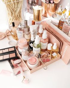 My vanity is always in a state of constant chaos of beauty and skin products. To give a very brief run down of things have have impressed…