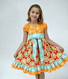 Hey, I found this really awesome Etsy listing at https://www.etsy.com/listing/41380280/girls-easter-dress-in-red-orange-and