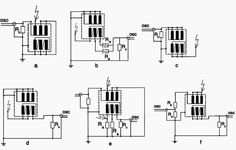 Circuit diagram of partial discharge measurement of a threephase transformer | Power