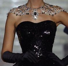 shoulder necklaces - Google Search