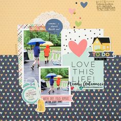 Love This Life - Simple Stories  Domestic Bliss collection