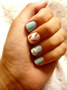 45 Cute Easter Nails Art Designs for 2016