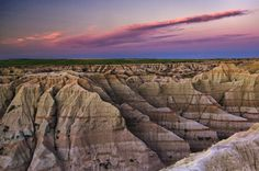 One of the most beautiful places I have ever been. Badlands, South Dakota