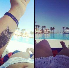 Very beautiful designer tattoo: Strepik owl temporary tattoo. #t4aw #temporarytattoo #owl #strepik #owltattoo