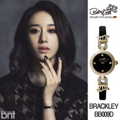 """www.bekanbell.com - [singer / 티아라 지연. bnt pictorial]. Elegant and Feminine timepieces from Germany """"Butterfly on your wrist"""" #watch #germany #bekanbell #celebrity #fashion #pictorial"""