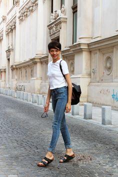 The Stunning Look, birkenstock outfit, stylish, basic
