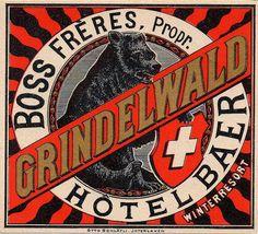 Hotel Baer ~ Grindelwald ~ Switzerland