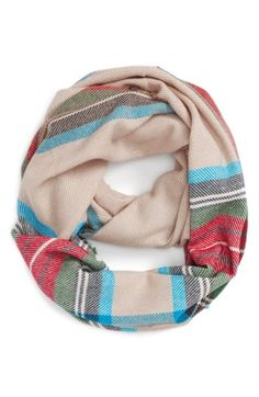 Free shipping and returns on BP. 'Heritage' Plaid Infinity Scarf at Nordstrom.com. A plaid pattern in rich hues details this supersoft infinity scarf edged in fun fringe.