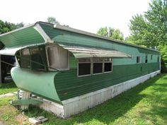 looks like a house trailer